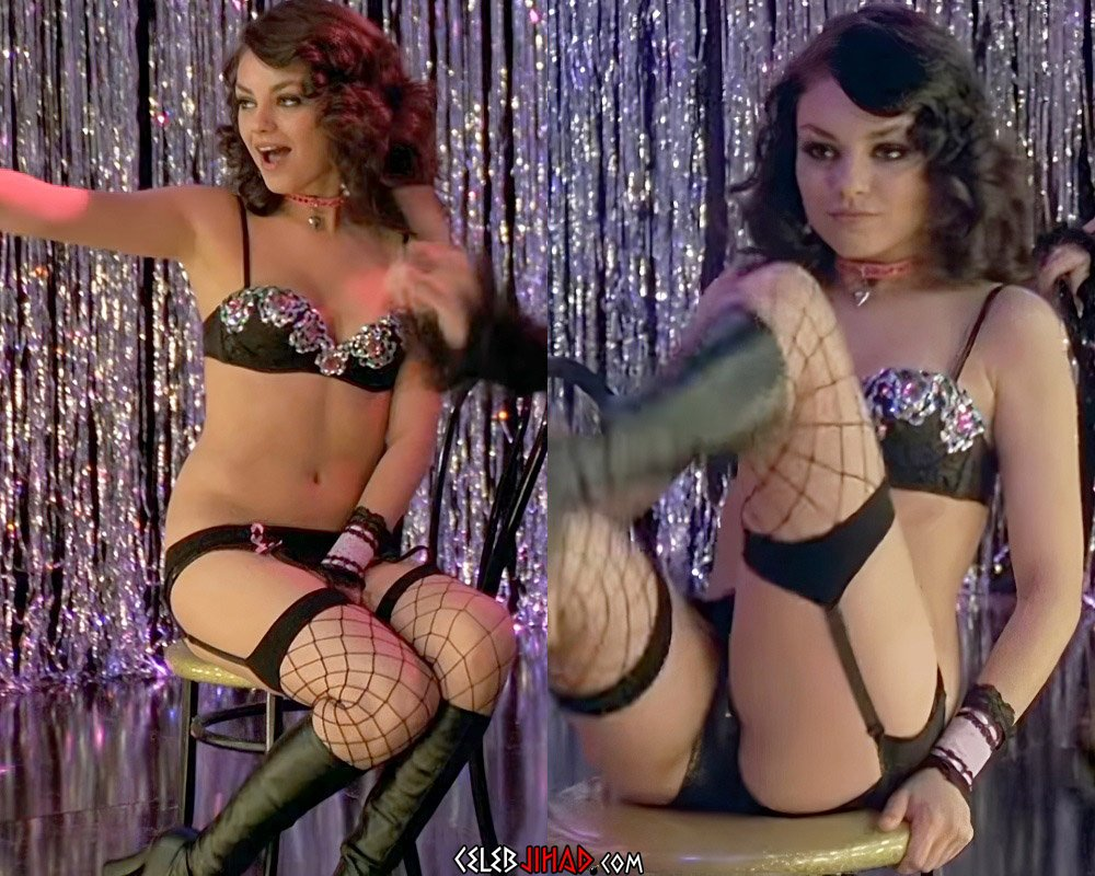 Mila Kunis Debuts Burlesque Strip Show