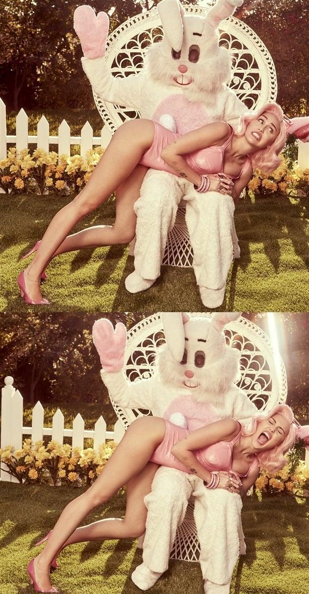 Miley Cyrus' Easter And The Celeb Jihad Celebrity Nude Leak Challenge