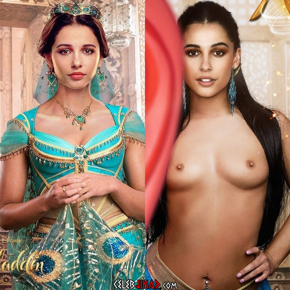 """Naomi Scott Nude Outtakes From """"Aladdin"""""""