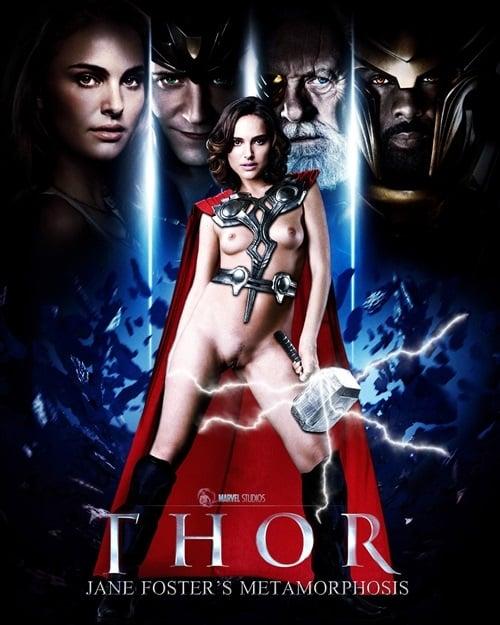 Natalie Portman Naked For 'Thor 2' Movie Poster