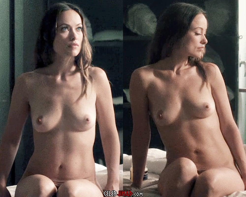 """Olivia Wilde Full Frontal Nude Scene From """"Vinyl"""" Enhanced In 4K"""