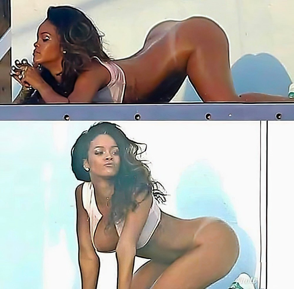 Rihanna Healing Racial Tensions With Handjobs