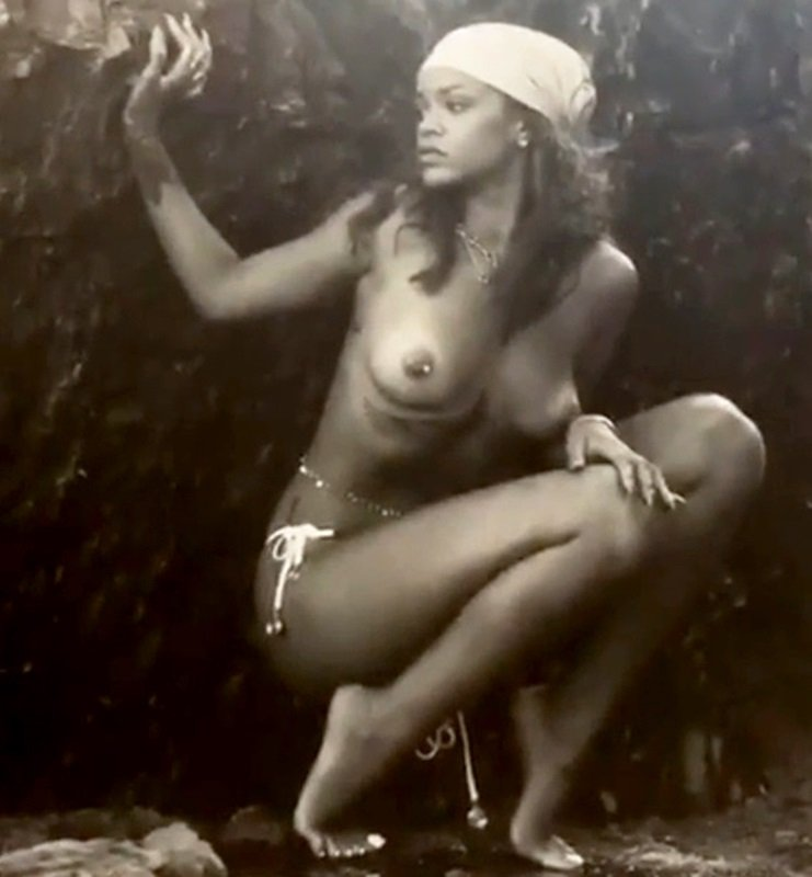 Rihanna Nude Photos From Her New Book