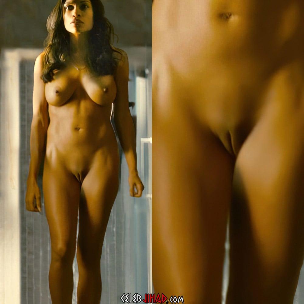 Rosario Dawson Nude Pussy Scene Remastered And Enhanced