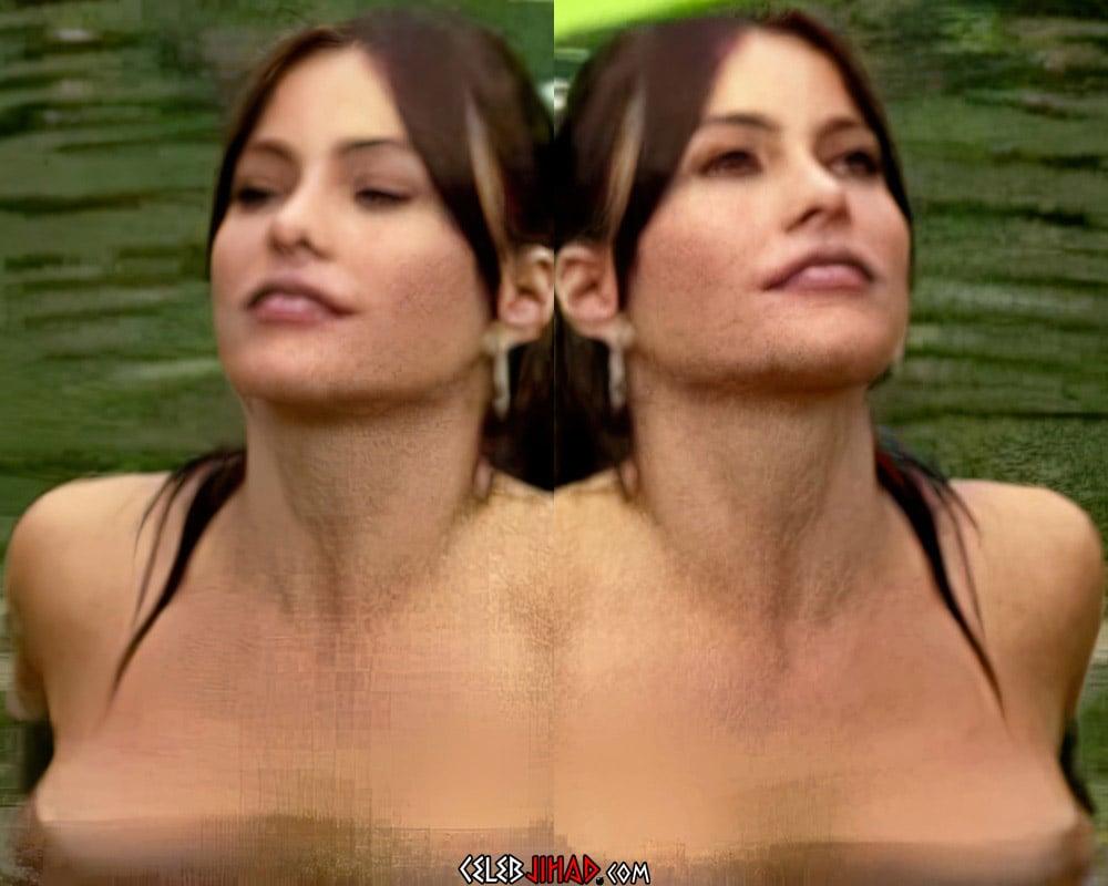 Sofia Vergara Topless Nude Scene Enhanced