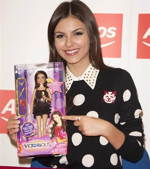 Victoria Justice Releases A Sex Doll
