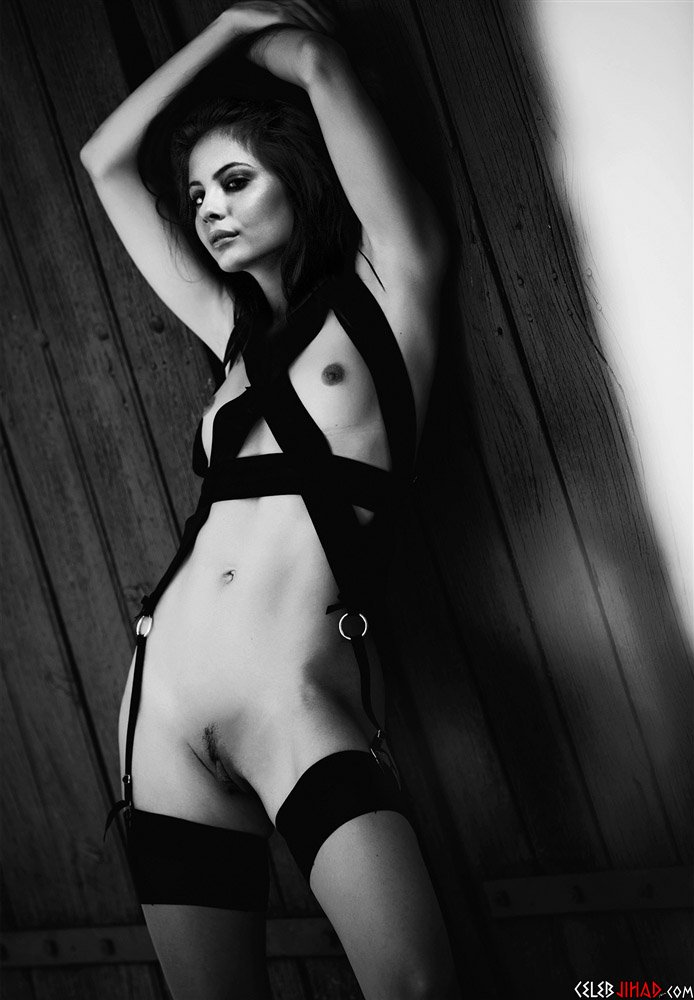 Willa Holland Naked For Black And White Photo Shoot