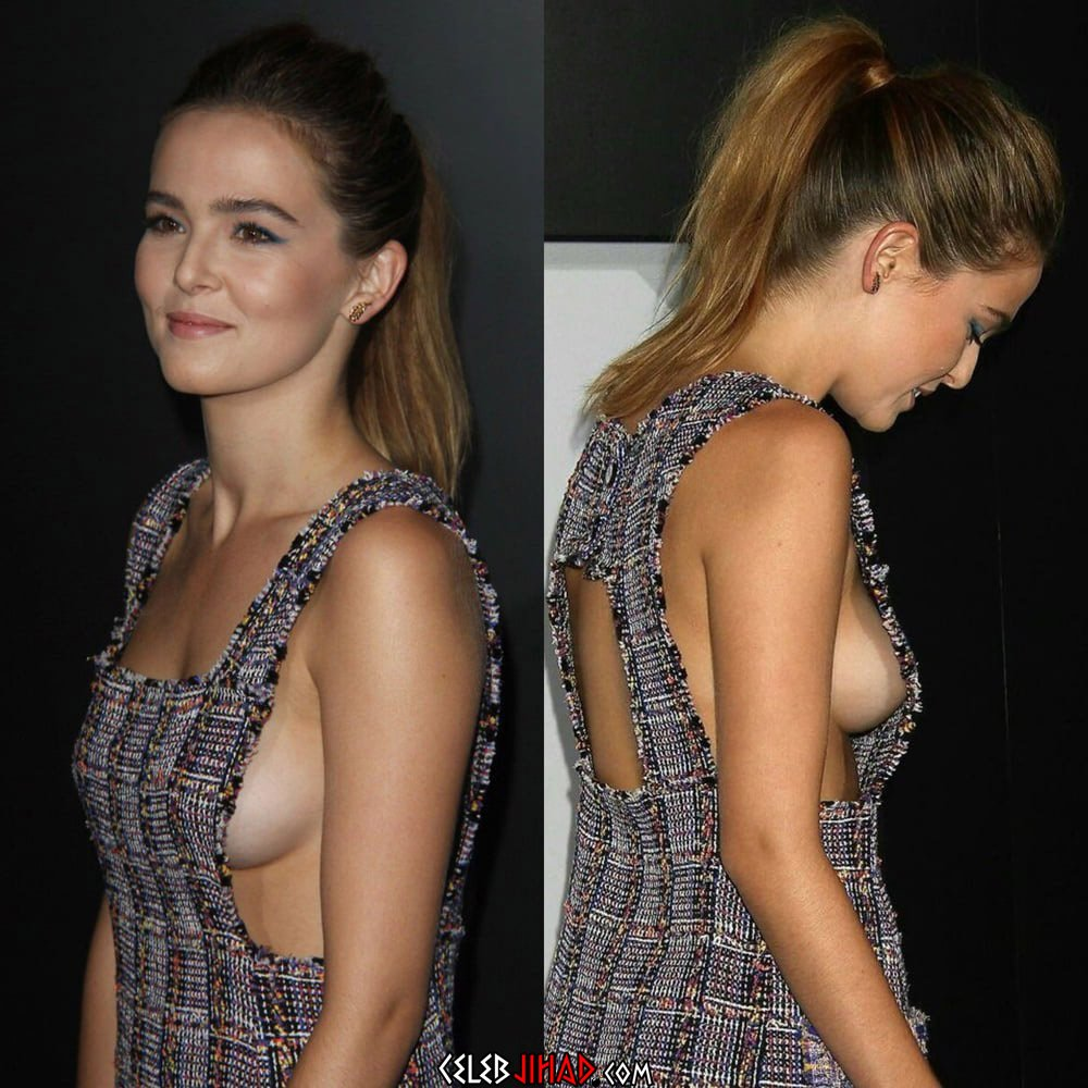 Zoey Deutch's Boobs Are Out Of Control