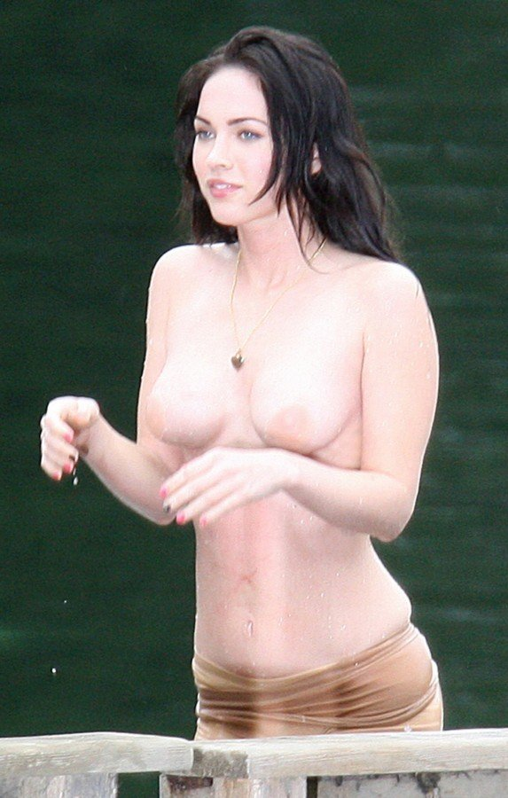 Topless Pictures of Megan Fox