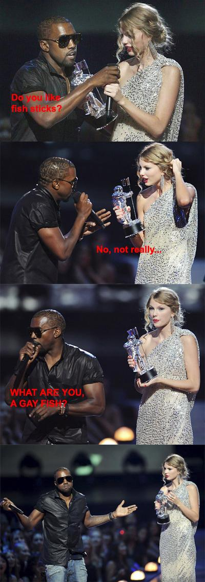 Kanye West Just Will Not Stop Interrupting