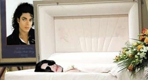 Michael Jackson's Ghost Caught On Film At Funeral