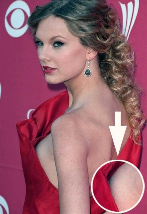 Taylor Swift Shows Her Nipple… Again