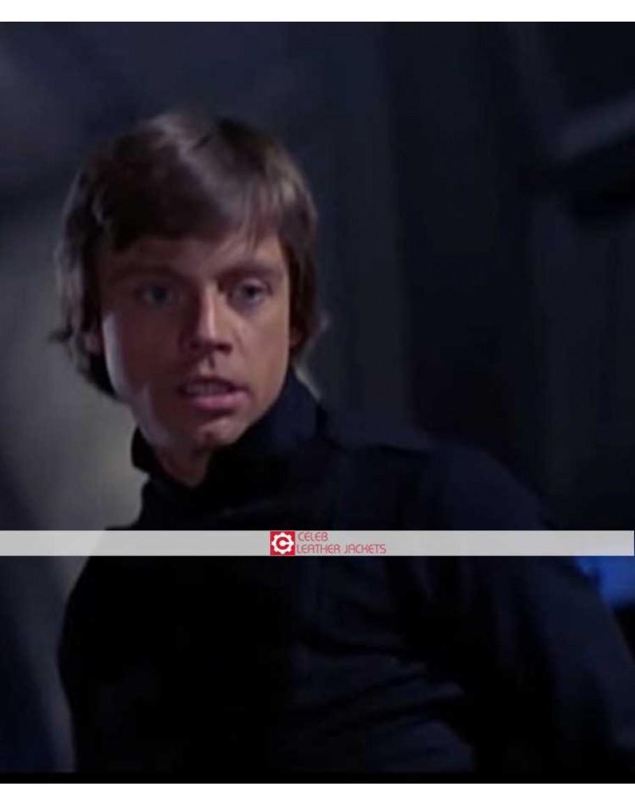 Return Of The Jedi Luke Skywalker Black Costume Jacket
