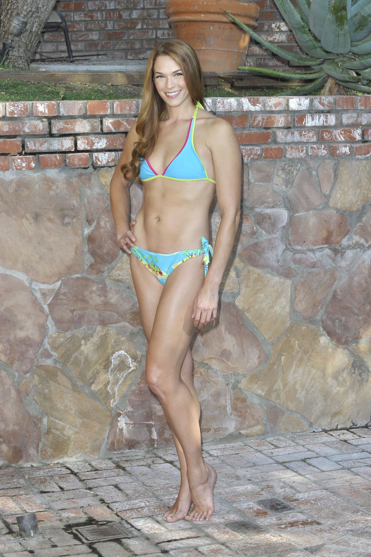 Amanda Righetti Bikini Photoshoot