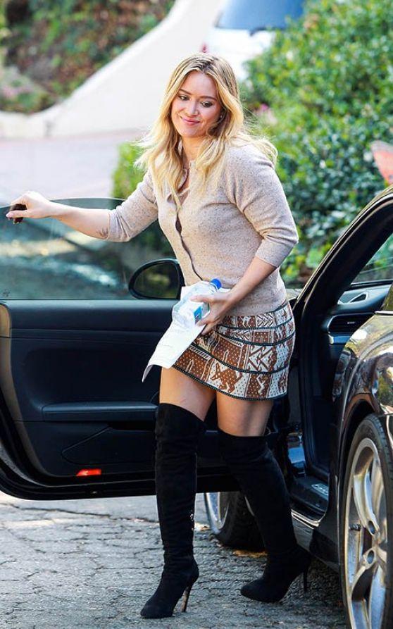 Hilary Duff Photos Beverly Hills October 2013