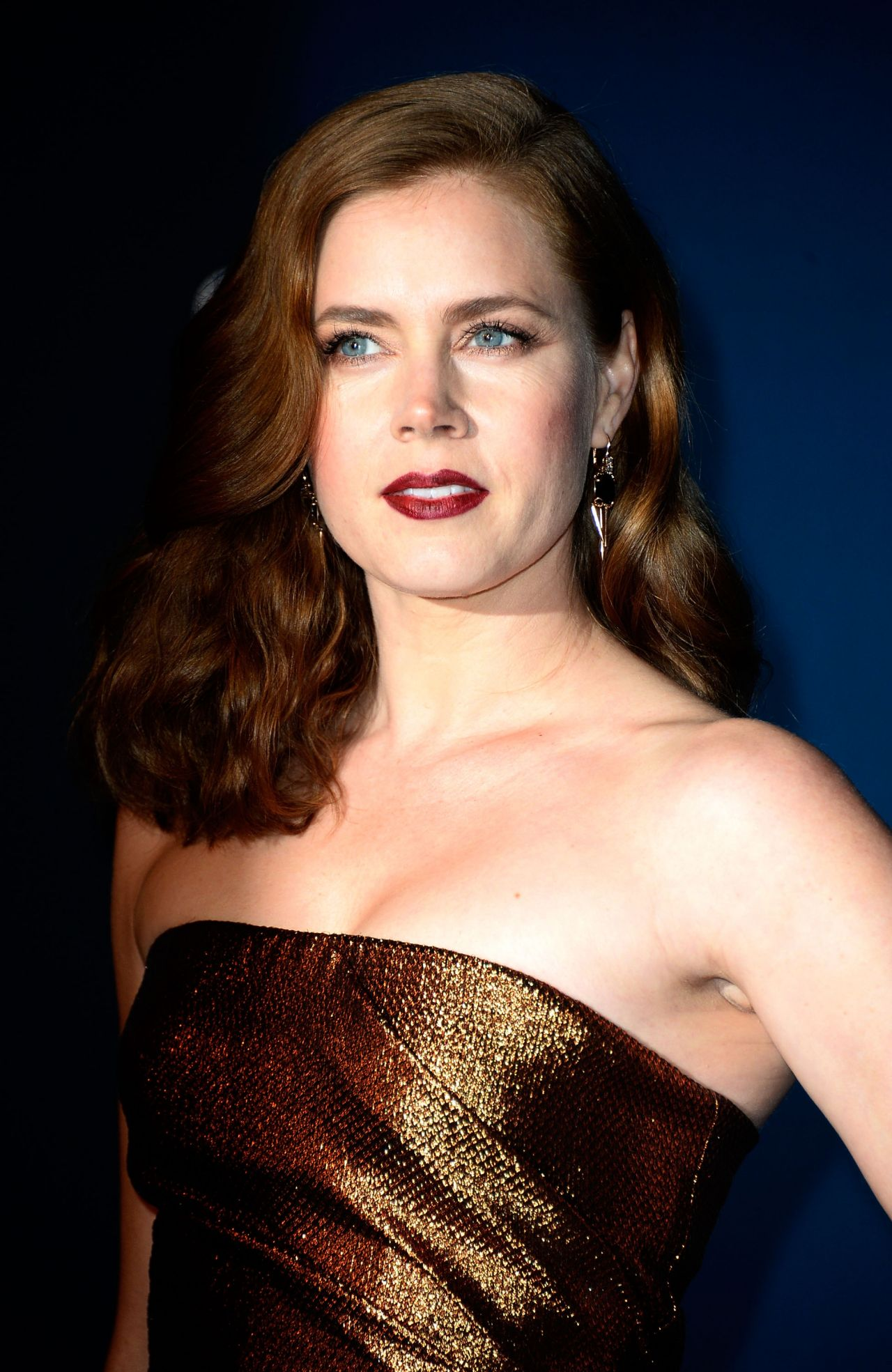 Amy Adams on Red Carpet  2013 LACMA Art anc Film Gala in