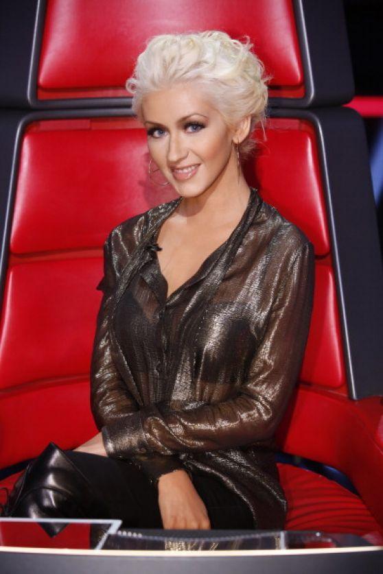 Christina Aguilera At The Voice Season 5 Live Show 8 Amp 9
