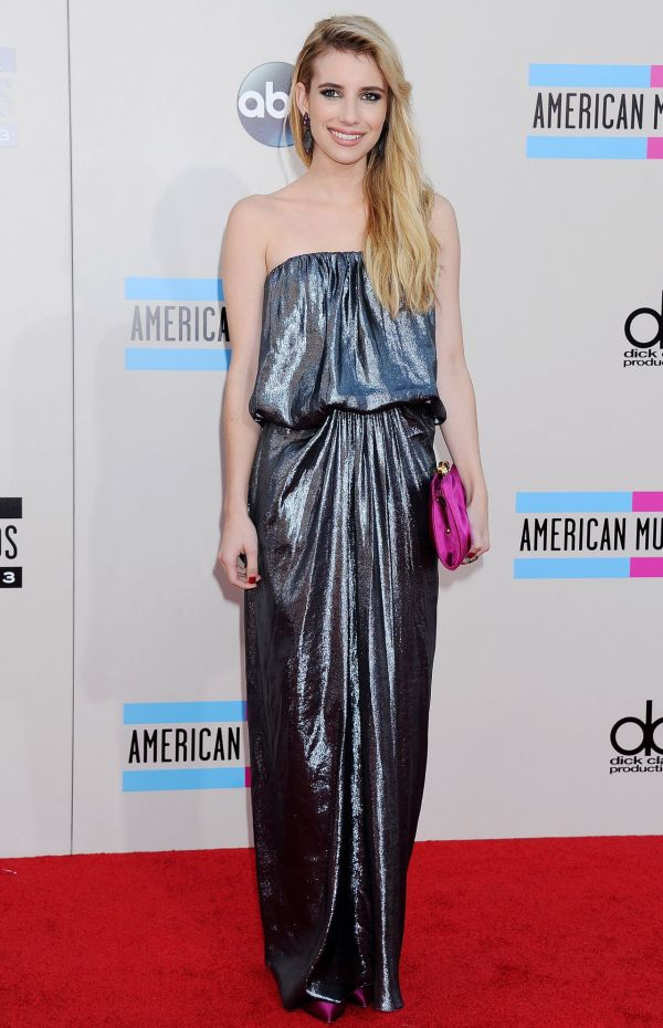 Emma Roberts Red Carpet - 2013 American Music Awards In
