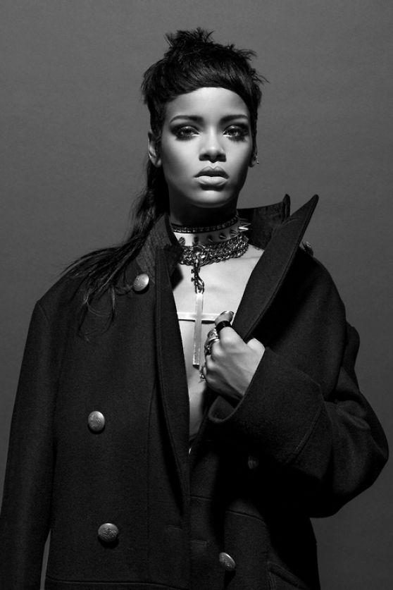 Rihanna Photoshoot for 032C Magazine Winter 20132014
