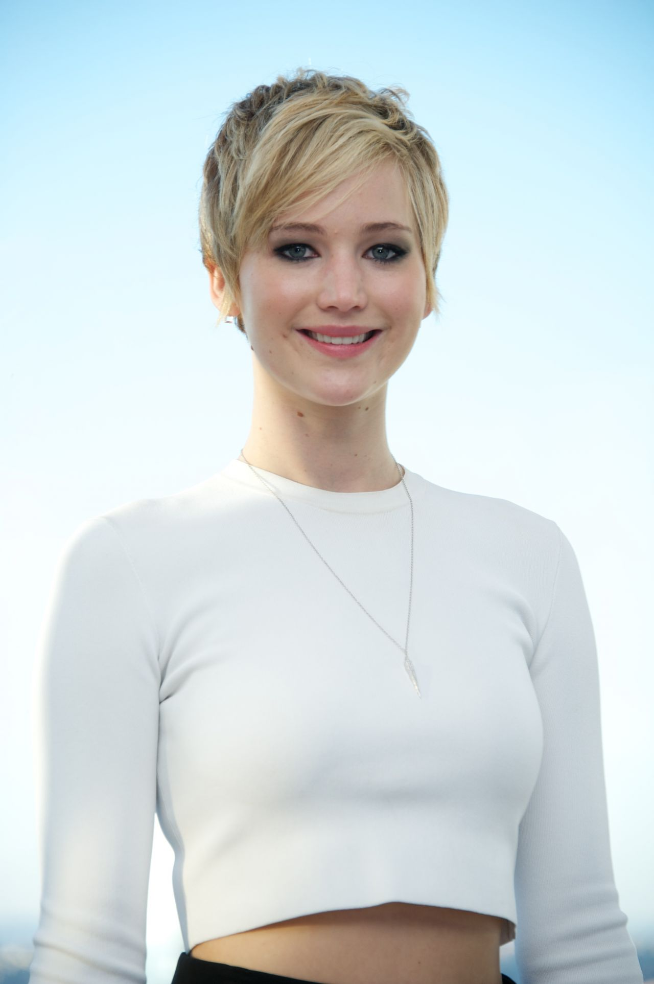 Jennifer Lawrence at AMERICAN HUSTLE Press Conference in