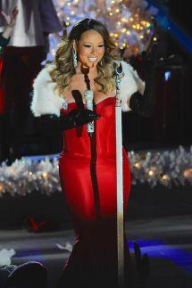Mariah Carey Performs 81st Annual Rockefeller Center
