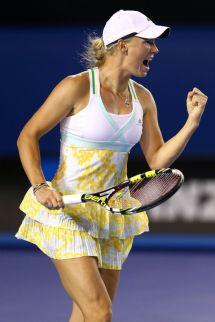 Caroline Wozniacki - Australian Open In Melbourne January