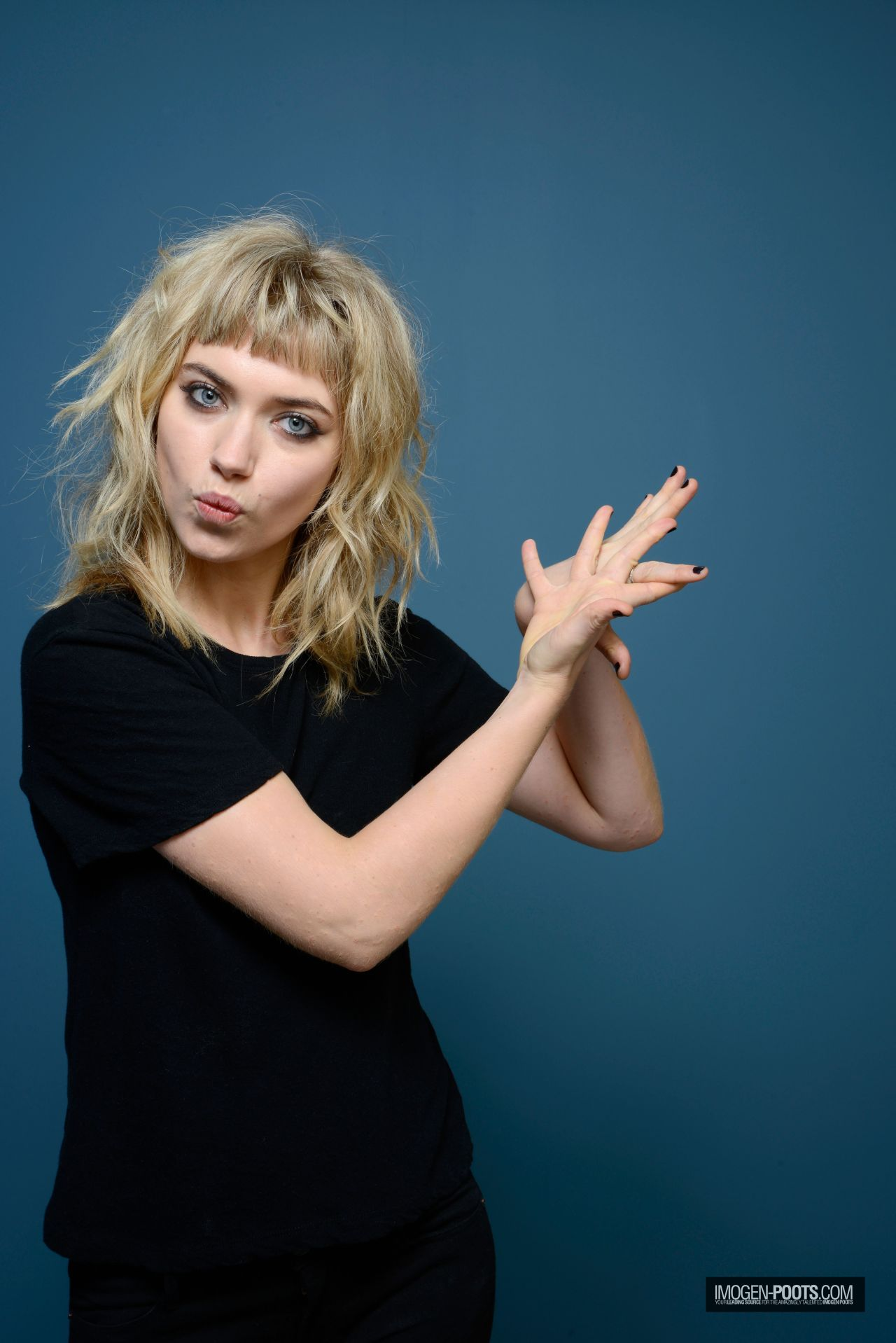 Imogen Poots All By My Side Portraits At TIFF 2013