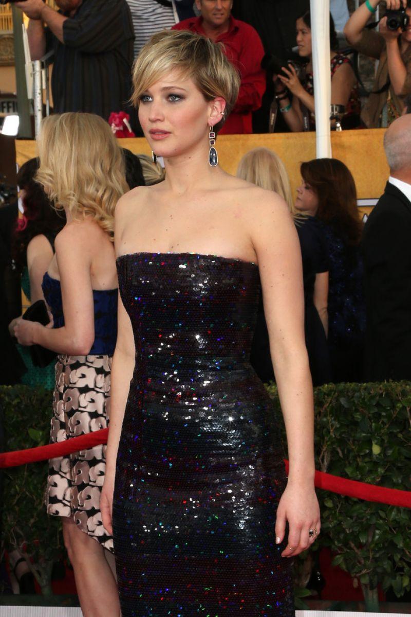 Jennifer Lawrence  2014 SAG Awards in Los Angeles