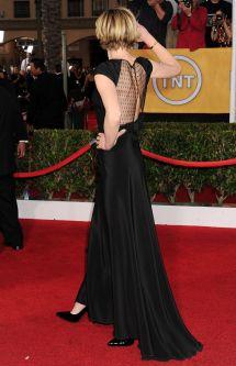 Portia De Rossi Wears Saint Laurent 2014 Sag Awards