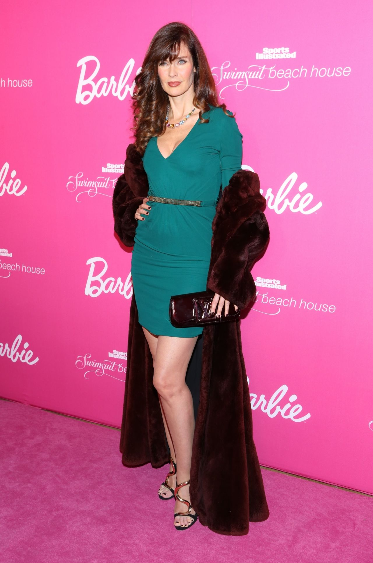 Carol Alt  SI Swimsuit 50th Anniversary Party  February 2014 Part 2