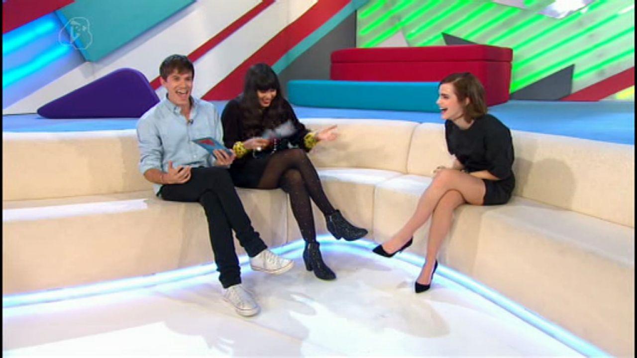Emma Watson  Leggy Interview