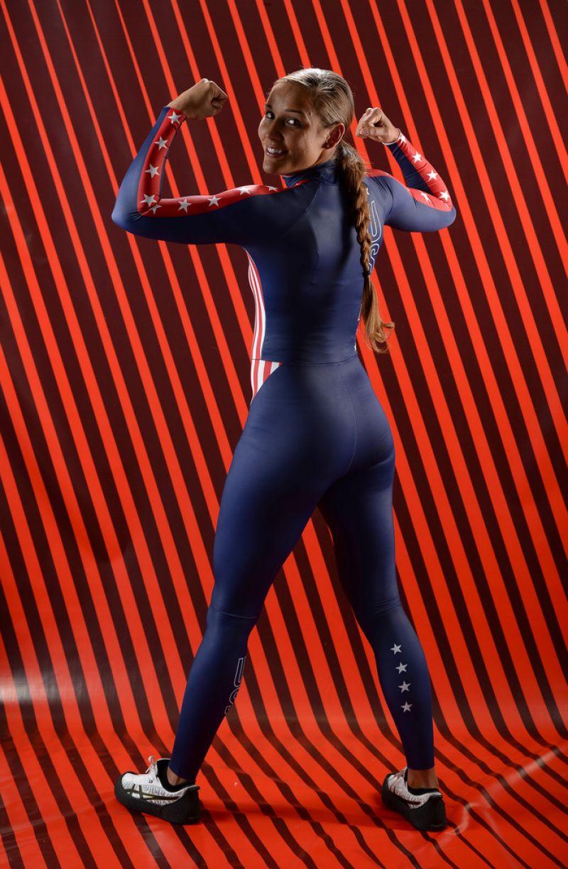 Lolo Jones  Portrait Photoshoot for Sochi 2014 Winter