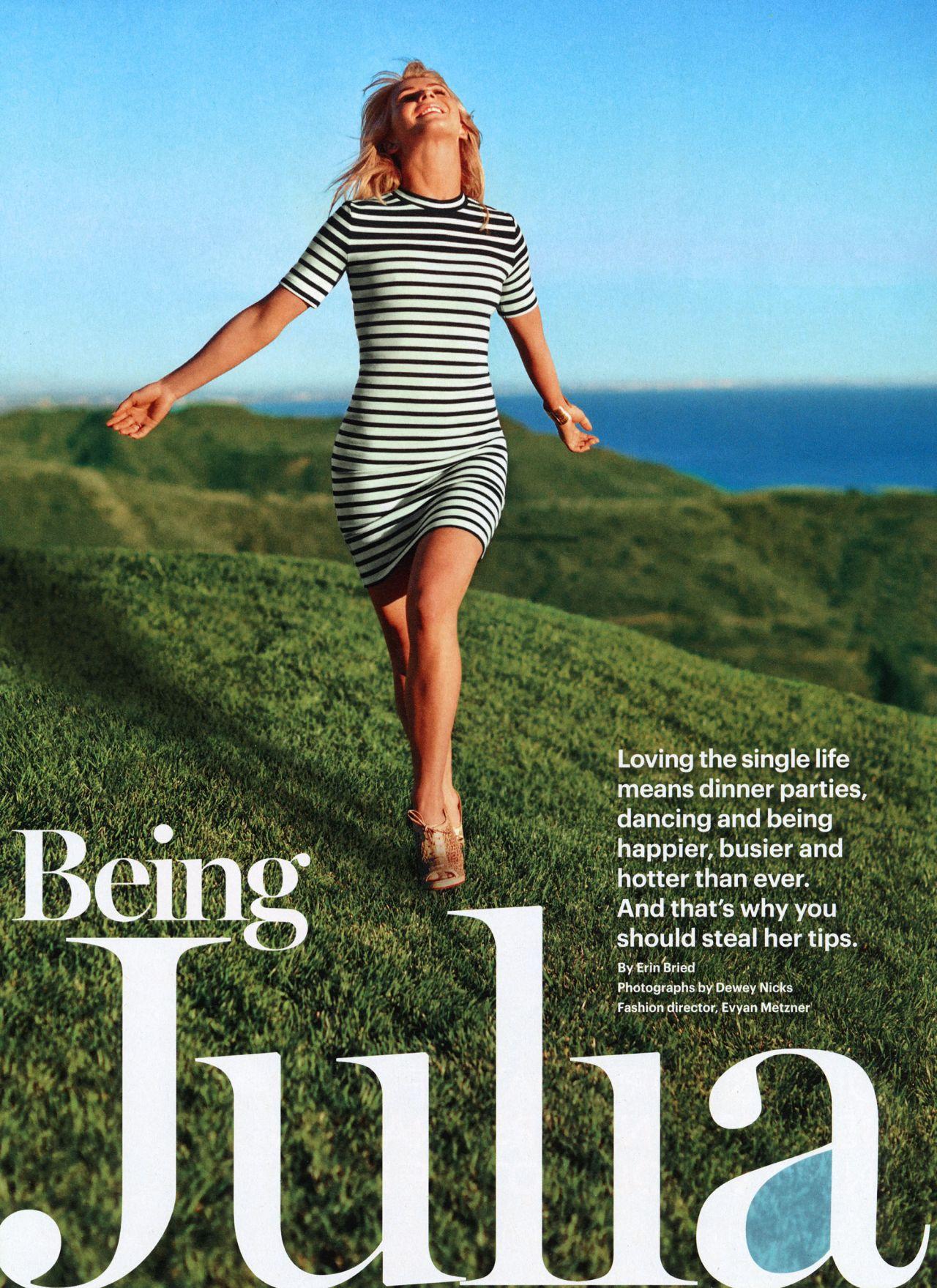 Julianne Hough  Self Magazine USA  March 2014 Cover
