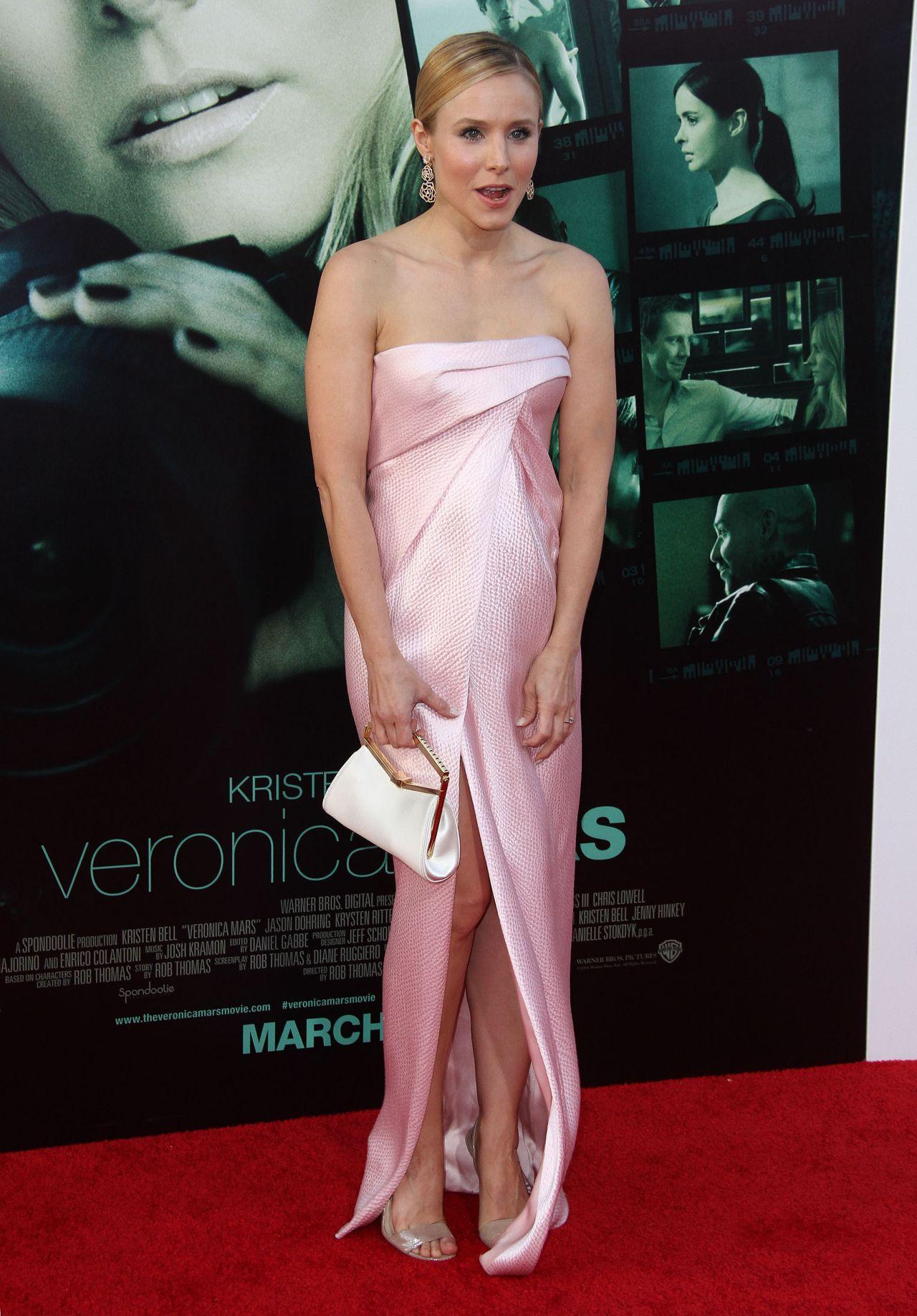 Kristen Bell  Veronica Mars Premiere in Hollywood