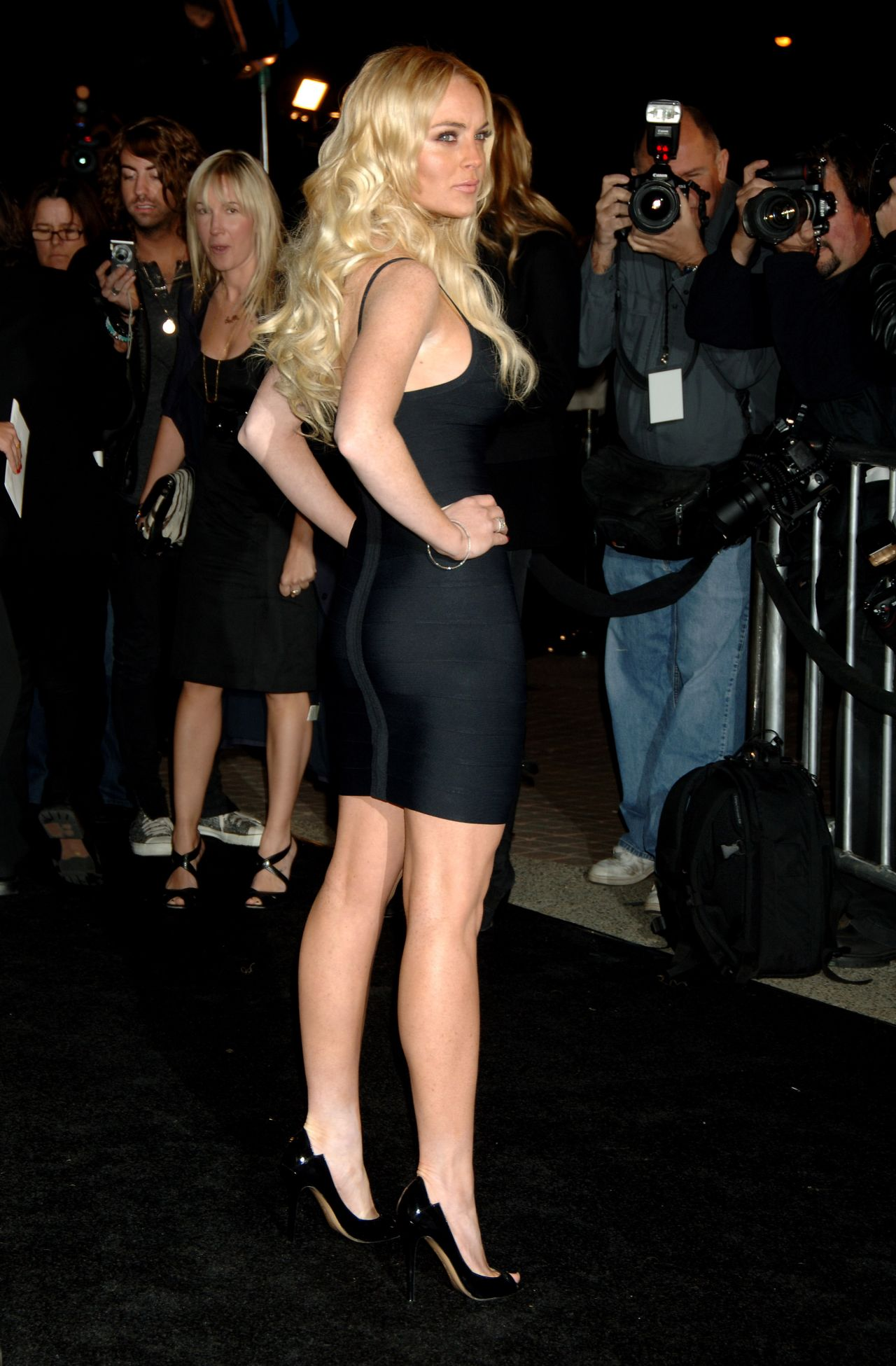 Lindsay Lohan  Legs  March 2014 Collection