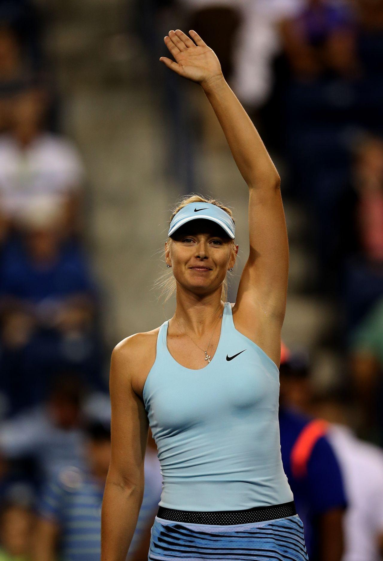 Maria Sharapova  2014 Indian Wells BNP Paribas Round 2