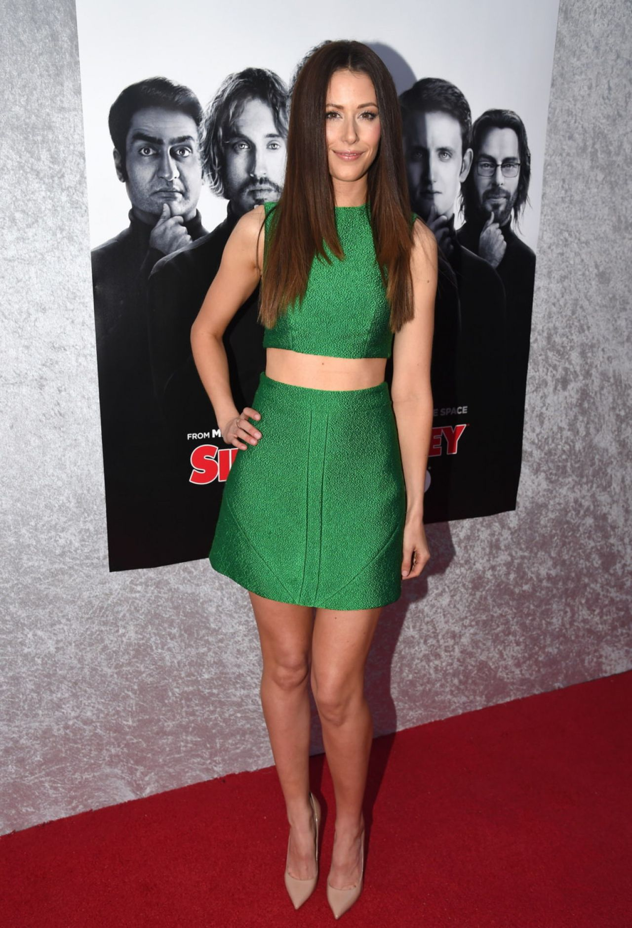 Amanda Crew  Silicon Valley TV Series Premiere in Hollywood