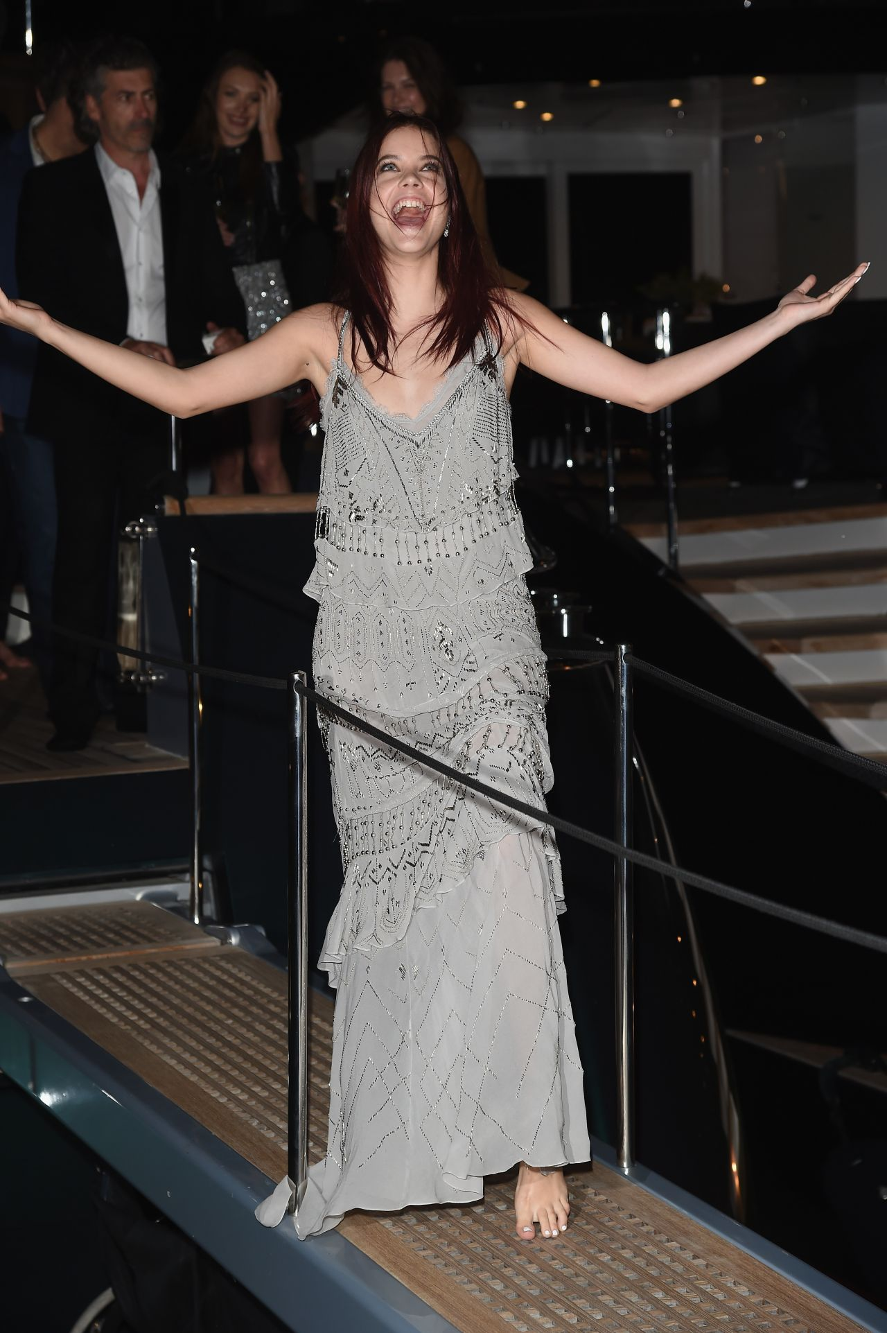 Barbara Palvin Roberto Cavalli Yacht Party 2014 Cannes