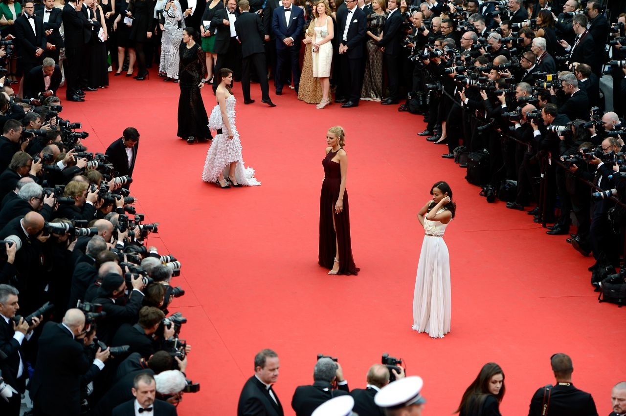 Blake Lively  Grace of Monaco Premiere at 2014 Cannes