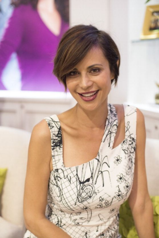 Catherine Bell At The Cable Show April 2014