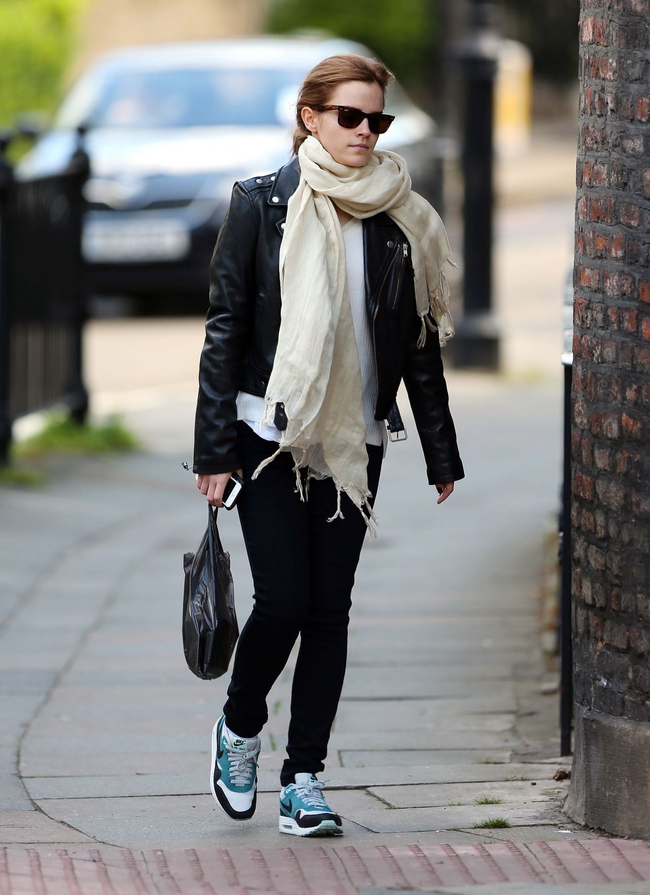 Emma Watson Street Style  Out in London  May 2014