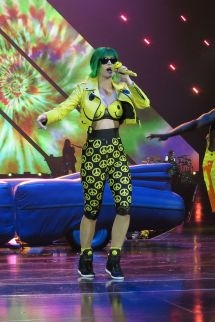 Katy Perry Performs Prismatic Tour - O2 Arena In London