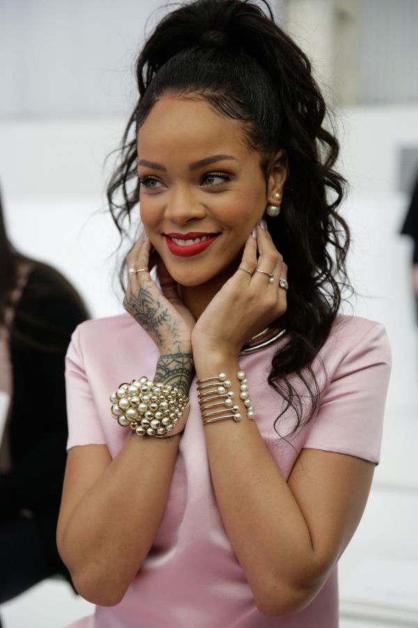 Rihanna - Dior Cruise 2015 Fashion Show 2014