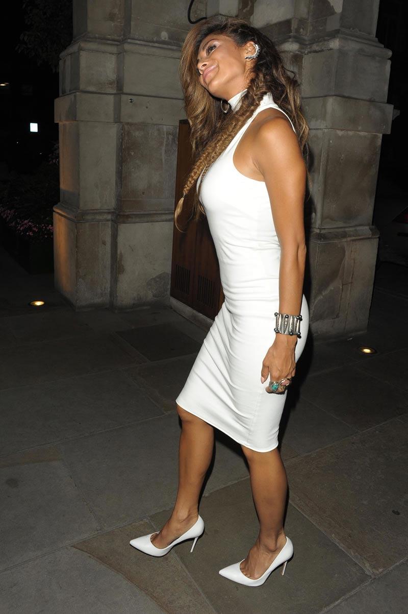 Nicole Scherzinger Booty in Skintight Dress  May 2014