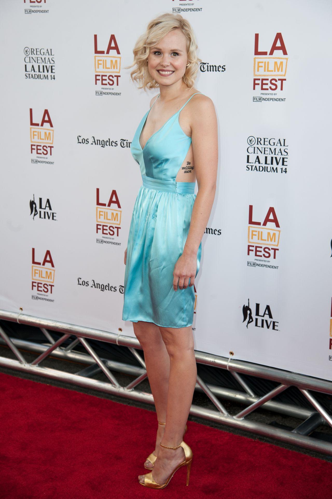Alison Pill  Snowpiercer Premiere in Los Angeles