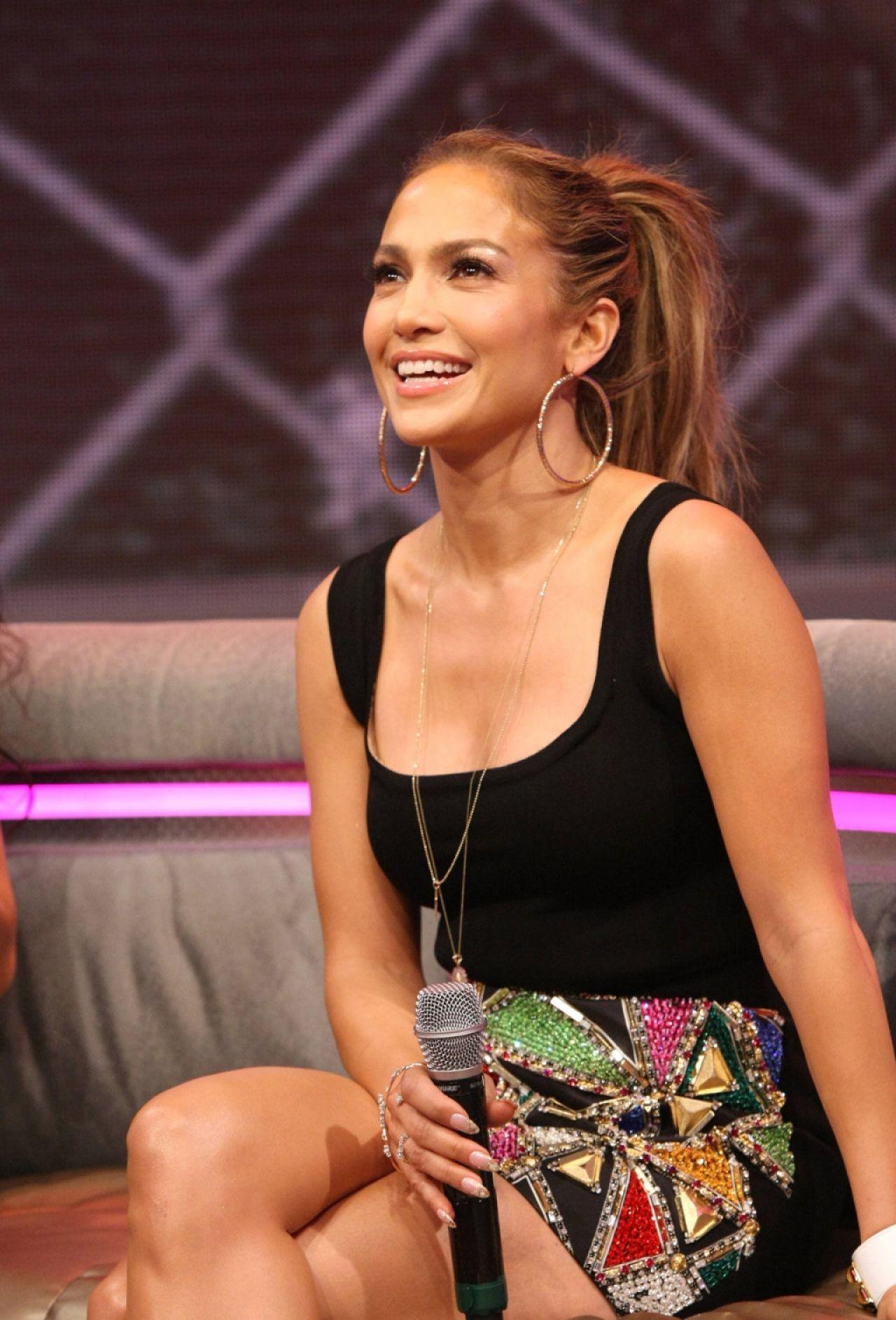 Jennifer Lopez at 106  Park in BET Studios in New York