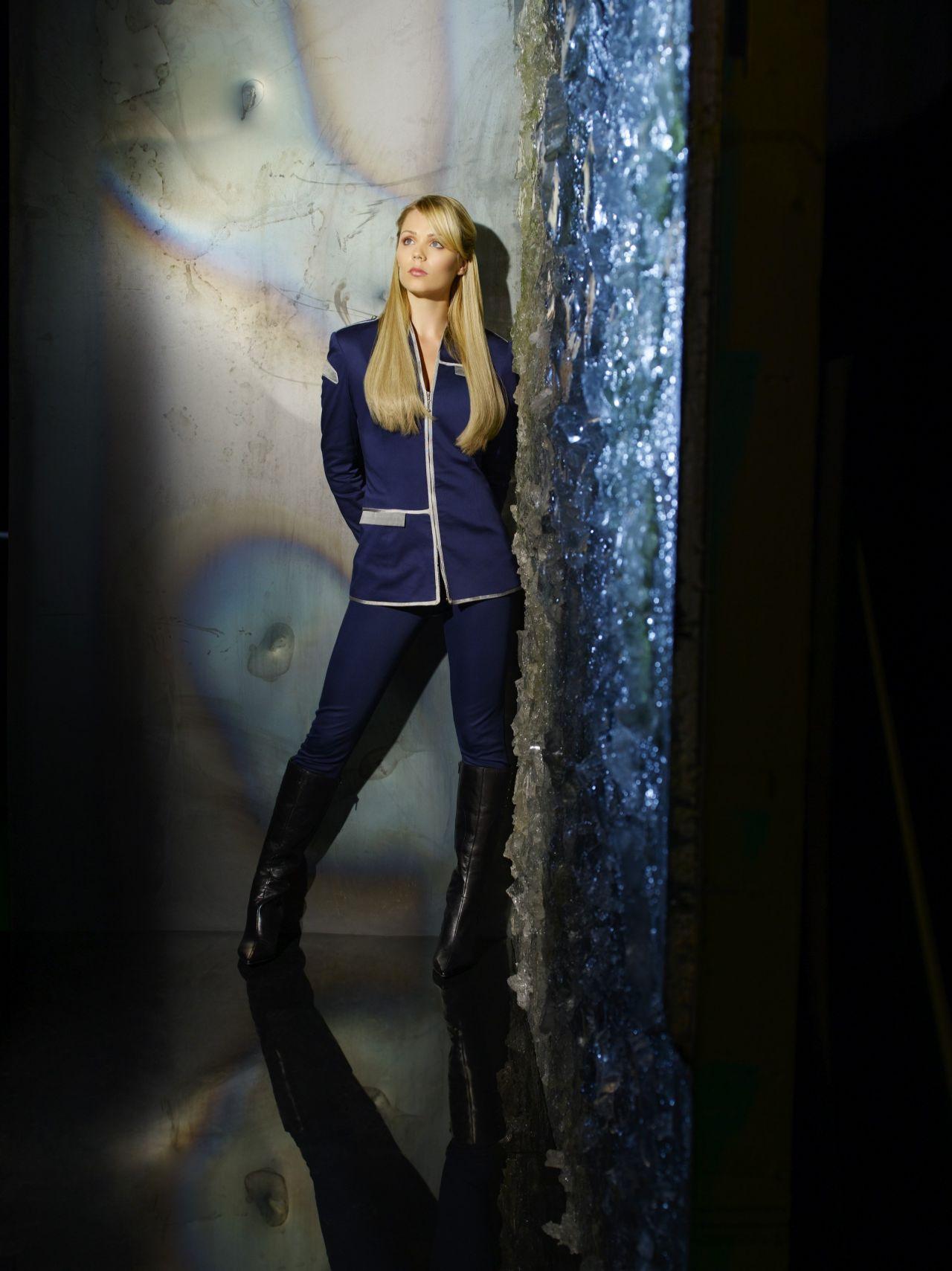 Laura Vandervoort  V TV Series Promo Shoot