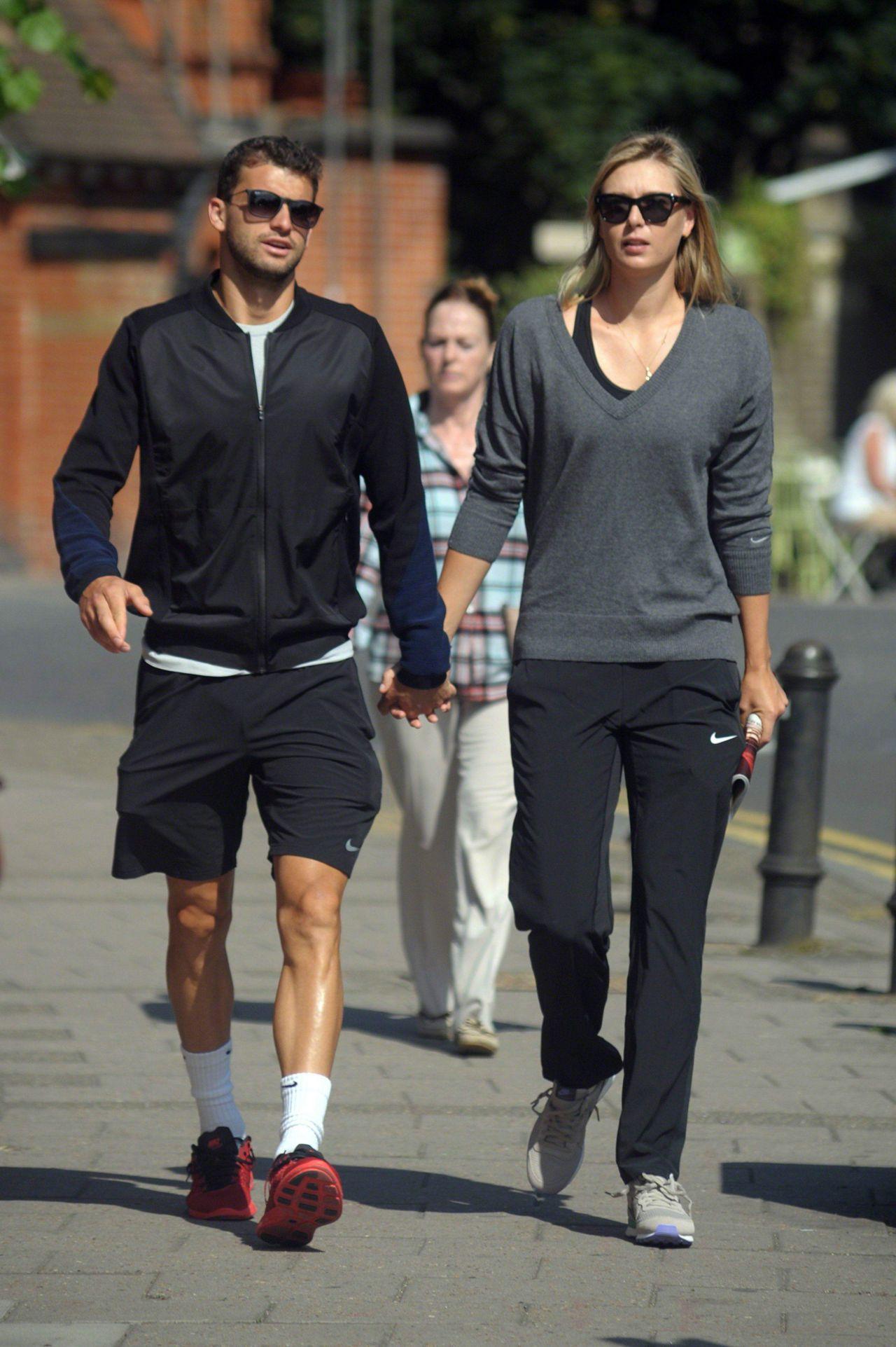 Maria Sharapova Holds Hands in the Sunshine With Boyfriend