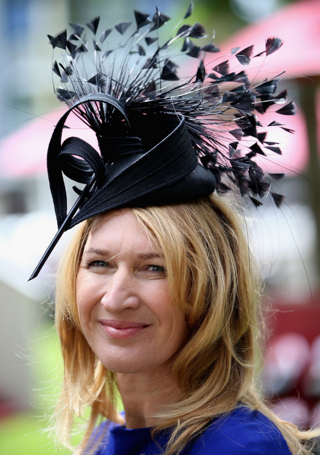 Steffi Graf  Attends Day 1 of Royal Ascot at Ascot Racecourse  June 2014