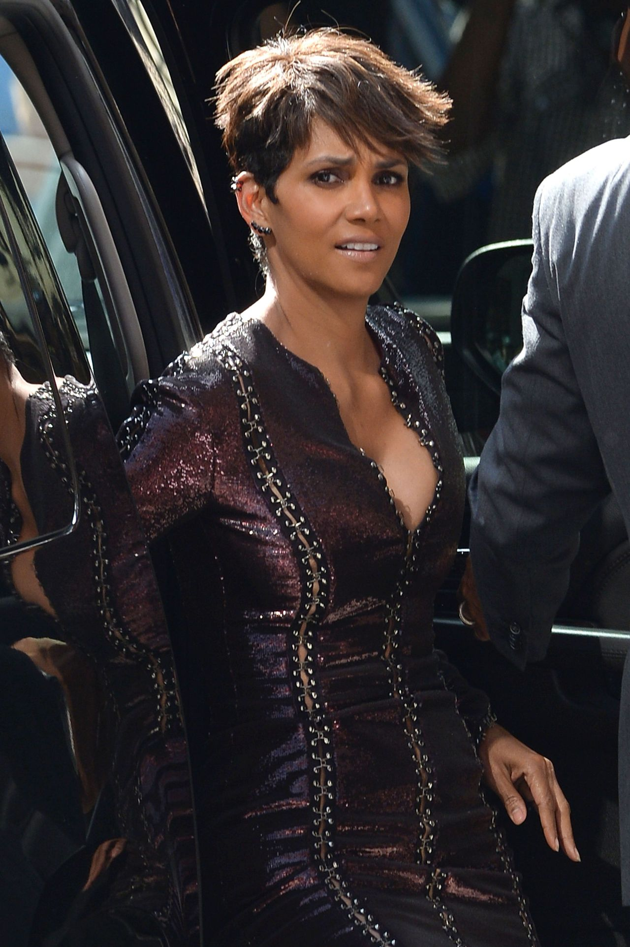 Halle Berry at The Late Show With David Letterman in New York City  July 2014